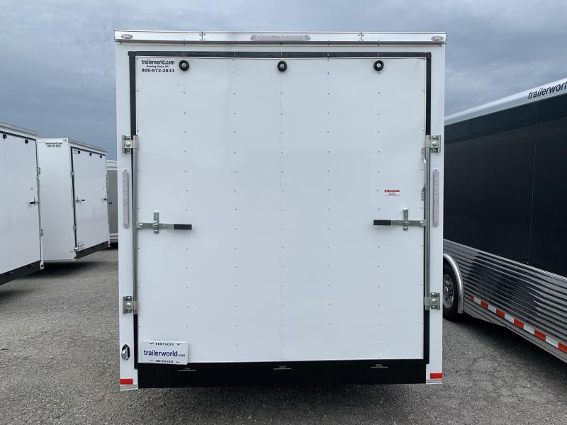 2020 Lark 7' x 24' x 7' Enclosed Cargo Ramp Door Tandem Axle