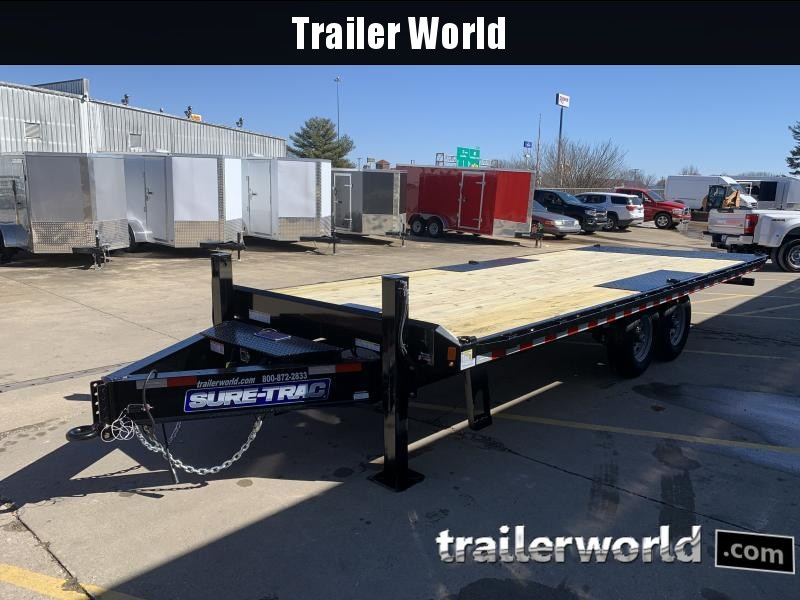 2021 Sure-Trac Heavy Duty Power Tilt Equipment Trailer