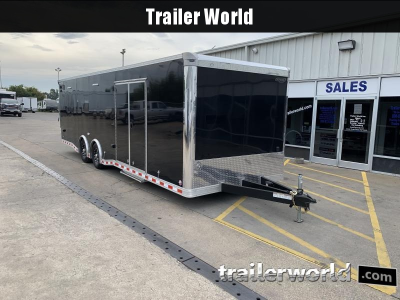 2019 Bravo Star 28 Enclosed Car Trailer
