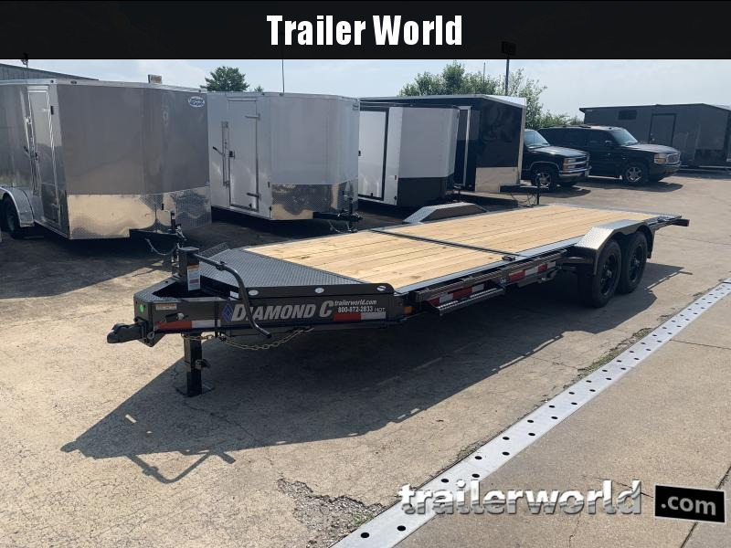 2020 Diamond C HDT 6' + 16' Tilt Bed 10 Ton Equipment Trailer