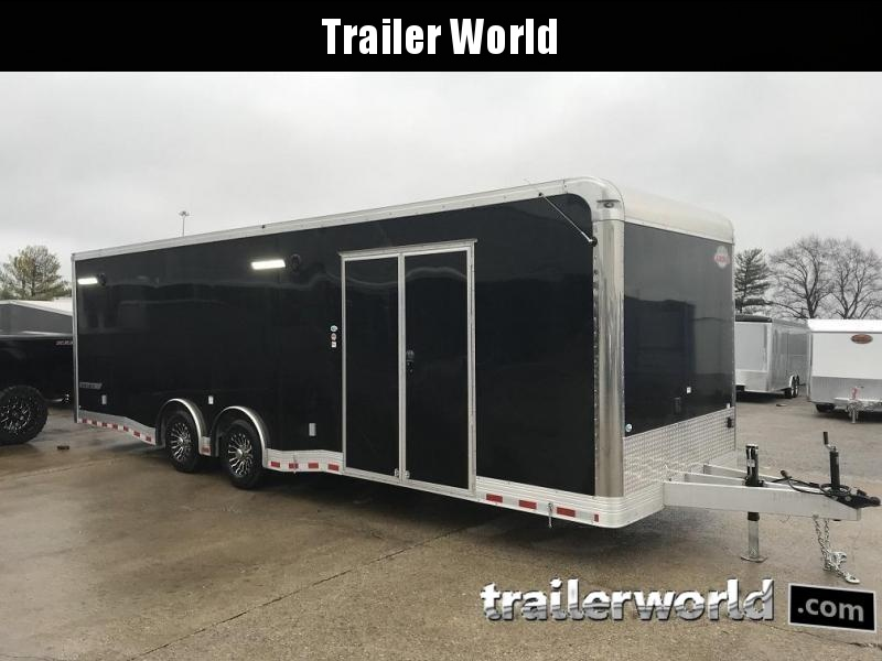 2021 Cargo Mate Eliminator Aluminum 28' Race Trailer
