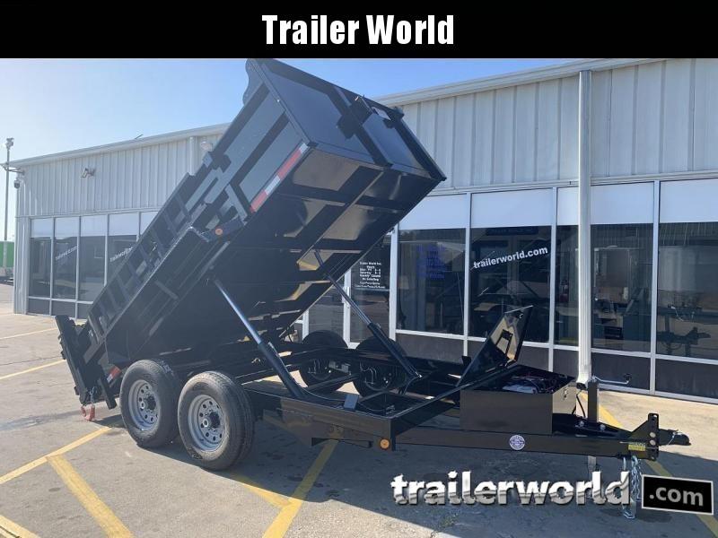 2021 Quality Steel 12' Dump Trailer 12K GVWR