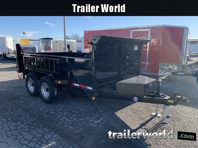 2021 Quality 12' Dump Trailer 12K GVWR