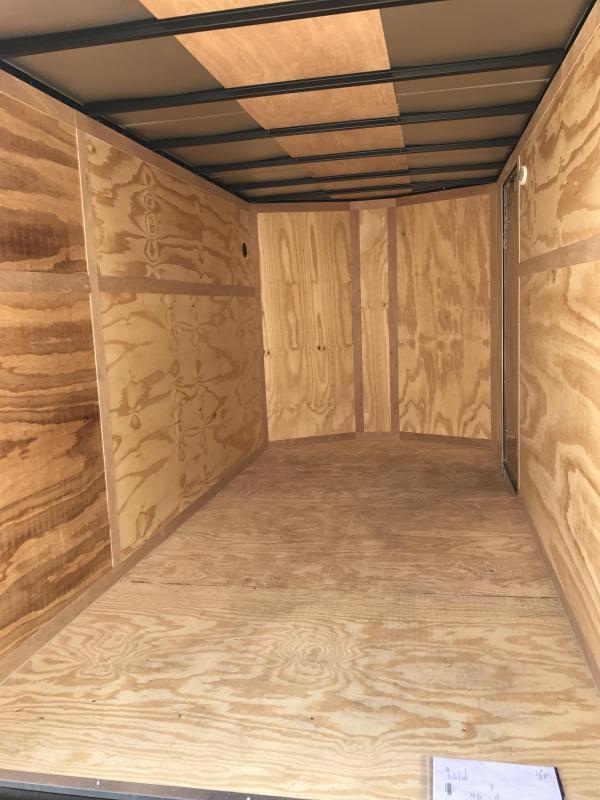 2020 Continental Cargo 7' x 12' x 6.3' Enclosed Cargo Trailer