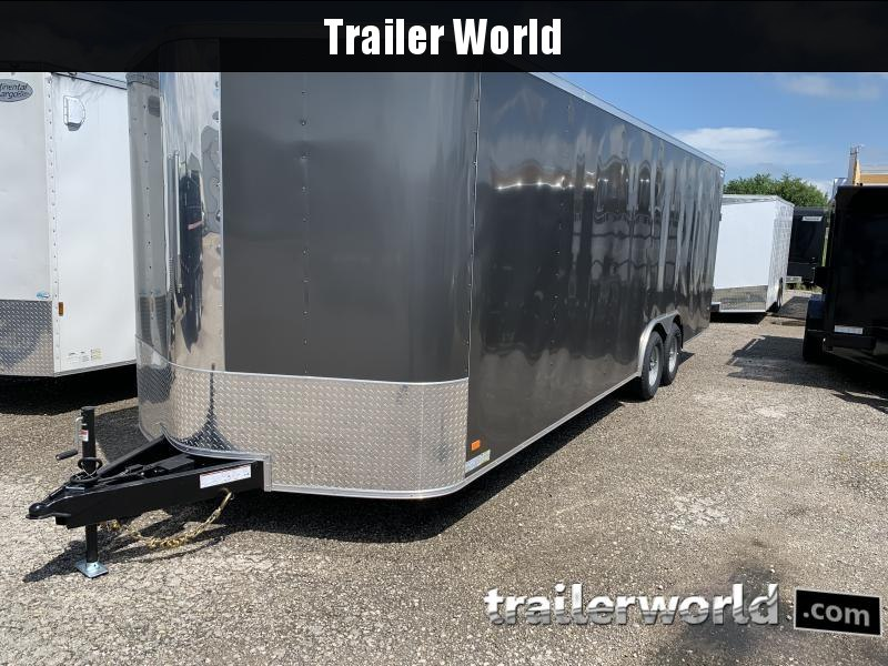 2021 CW 24' Enclosed 7' tall Car Trailer 10k GVWR