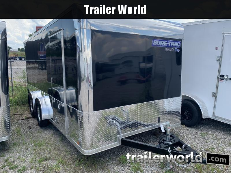 2021 Sure-Trac Moto Pro 7.5 x 16 Enclosed Cargo Trailer