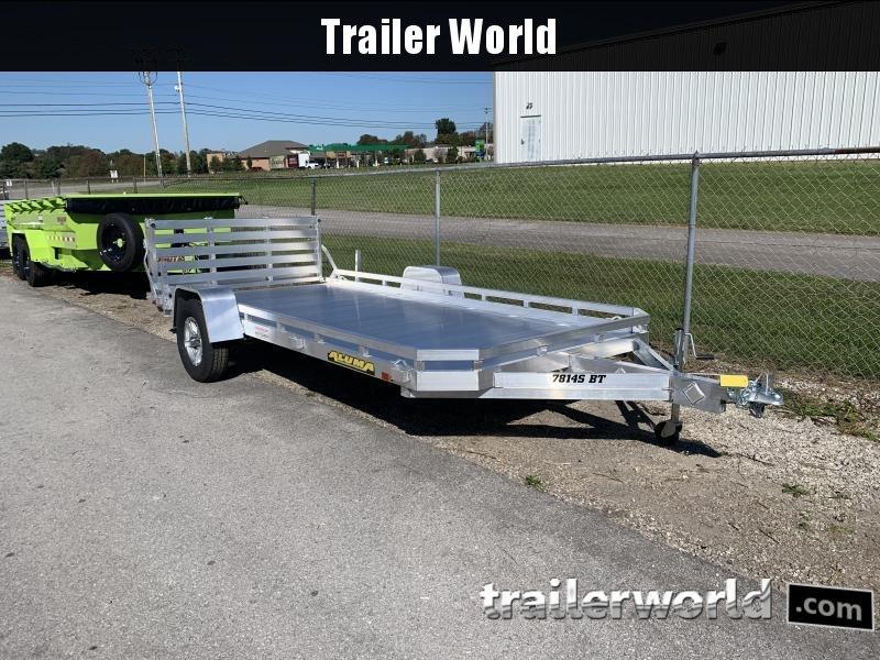 2022 Aluma 7814S-BT-TR Utility Trailer