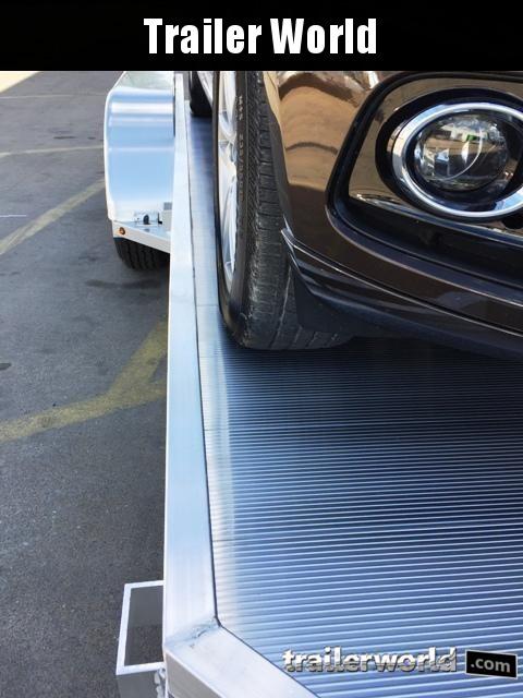 2022 Aluma 7816B 16 Aluminum Open Car Hauler