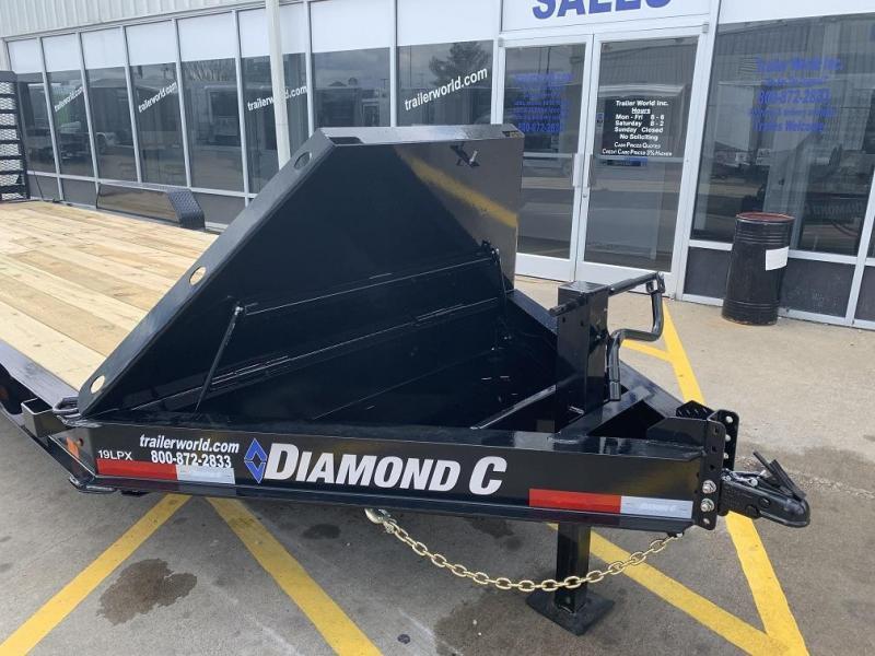 2021 Diamond C LPX 24' Equipment Trailer 17.6k GVWR