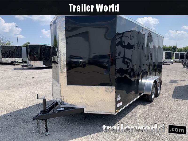 2022 28727 7 x 16'TA Enclosed Cargo Trailer