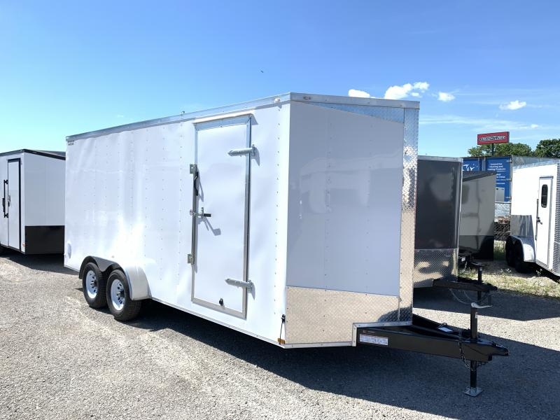 2020 Lark 7' x 18' x 7' Enclosed Cargo Ramp Door 10k
