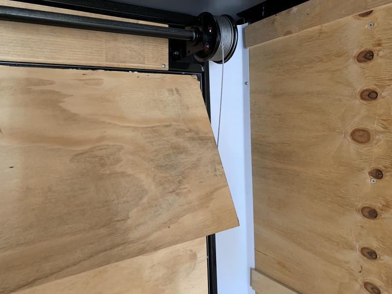 2021 Lark 8 5 x 24 Enclosed Cargo Ramp Door