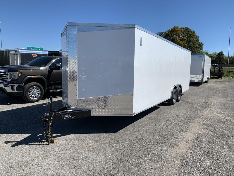 2021 Lark 8 5 x 24 Enclosed Cargo Ramp Door