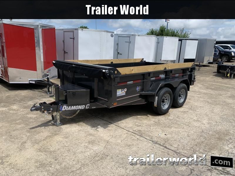2021 Diamond C EDM 77 x 12' Dump Trailer 10k GVWR