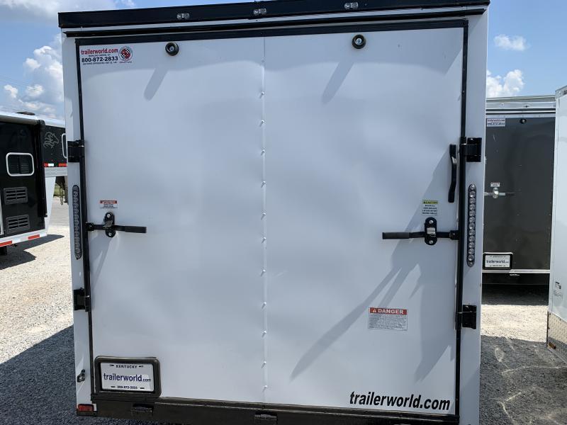 2021 25889 7 x 16'TA Enclosed Cargo Trailer