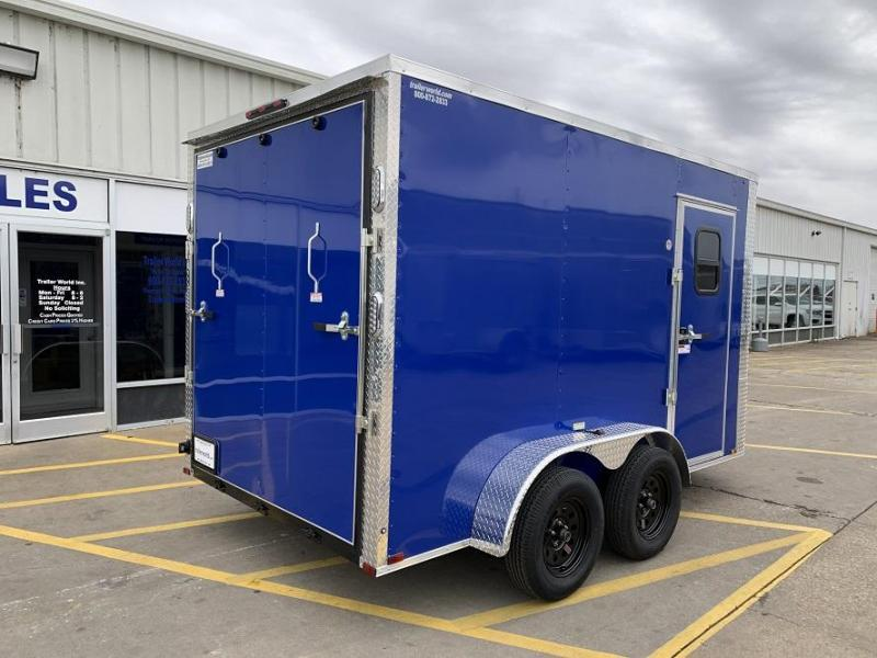 2020 Arising 7 x 12 x 7 Enclosed Cargo Trailer w/ Windows