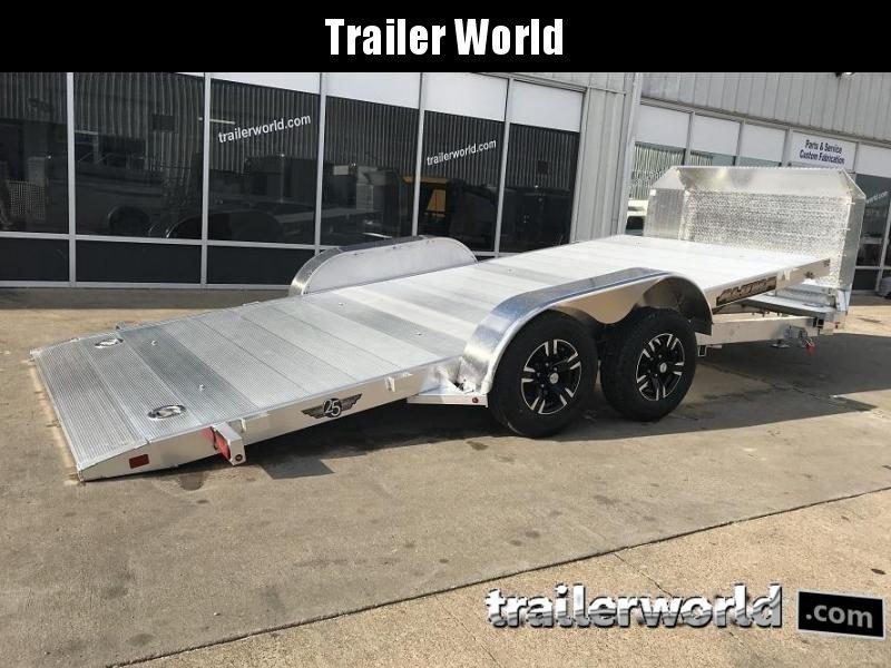 2022 Aluma 8216 Tilt Bed Open Car Hauler Trailer Anniversary Edition