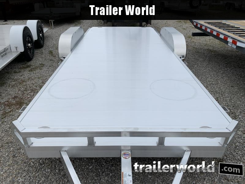 2021 Aluma 8220  20' Aluminum Open Car Trailer