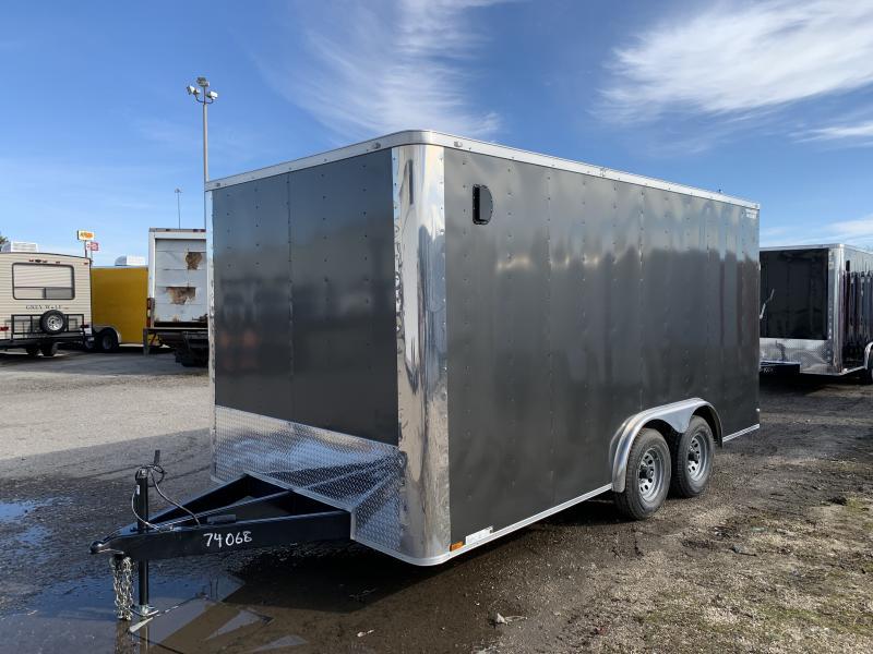 2021 Lark 8.5X16TA Conventional Nose Enclosed Cargo Trailer