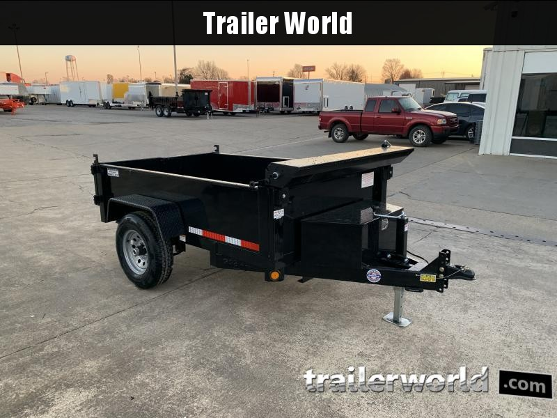 2021 Quality Steel 5' x 8' Dump Trailer