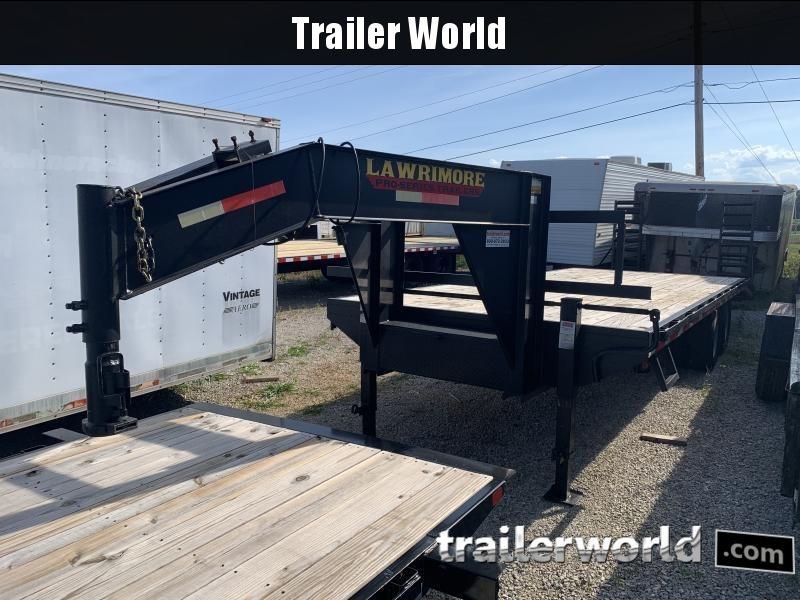 2016 Lawrimore 25' GN Equipment Trailer