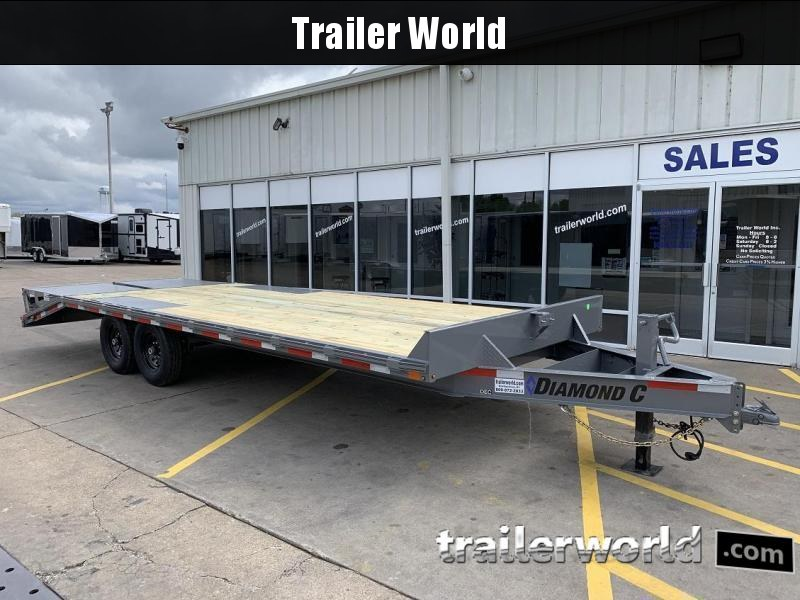 2021 Diamond C DEC207 24' Deck Over Equipment Trailer