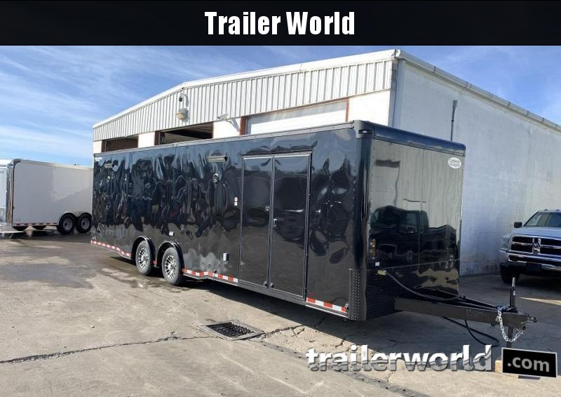 2021 Continental Cargo 30' Black Out Race Trailer Spread Axles