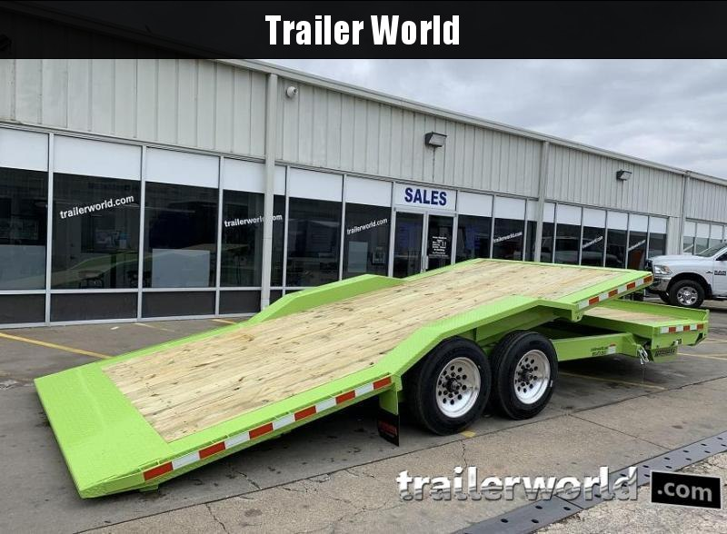 2021 Midsota TBWB-22' Wide Body Split Deck Tilt Equipment Trailer