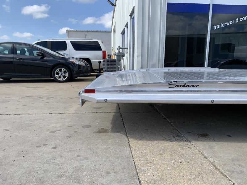 2022 Sundowner 35' Open Aluminum 2 Car Hauler Trailer