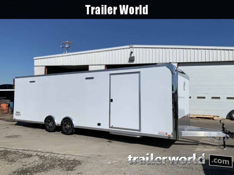 2021 inTech  28' Aluminum Enclosed Race Trailer