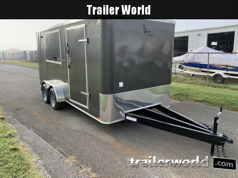 2021 Lark 7X16TA Vending / Concession Trailer