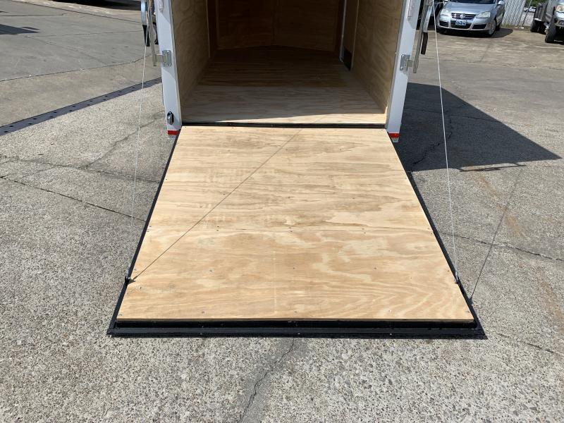 2020 Lark 6' x 12' x 6.5' Vnose Ramp Door Trailer