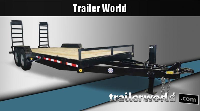 2022 Quality Steel and Aluminum 18' Equipment Trailer