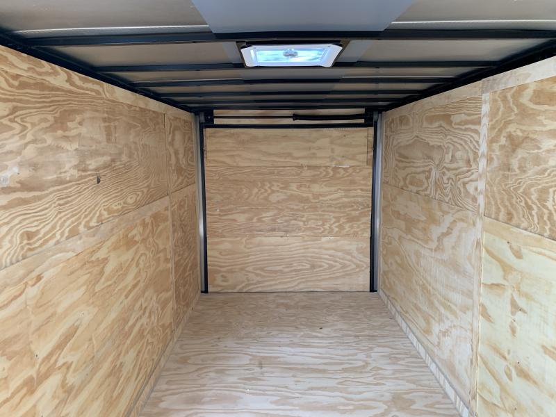 2021 27440 7 x 16'TA Enclosed Cargo Trailer
