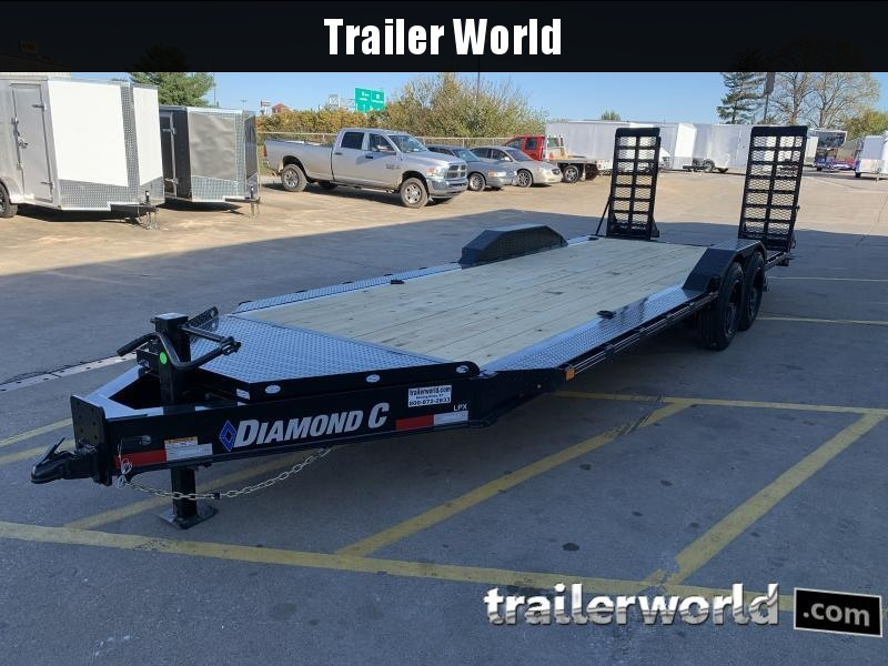 2021 Diamond C LPX 22' Low Profile 8 Ton Equipment Trailer