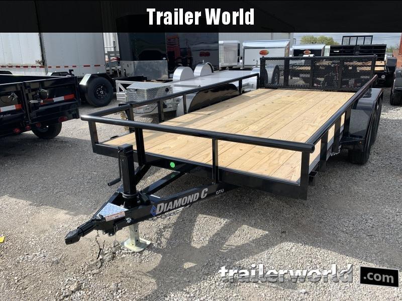 2021 Diamond C Trailers GTU 14' Utility Trailer
