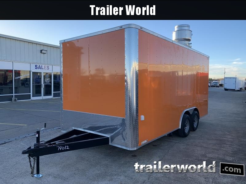 2021 Lark 8.5' X 18' Vending / Concession Trailer