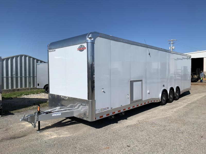 2022 Cargo Mate ALUMINUM Eliminator 34' Race Trailer Bath Pkg