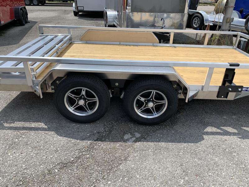 2021 Sure-Trac 82 X 14 Aluminum Tube Top Utility 7k Tandem