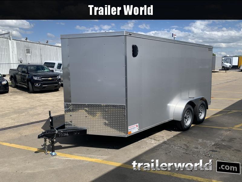 2021 73066 7 X 14'TA Enclosed Cargo Trailer