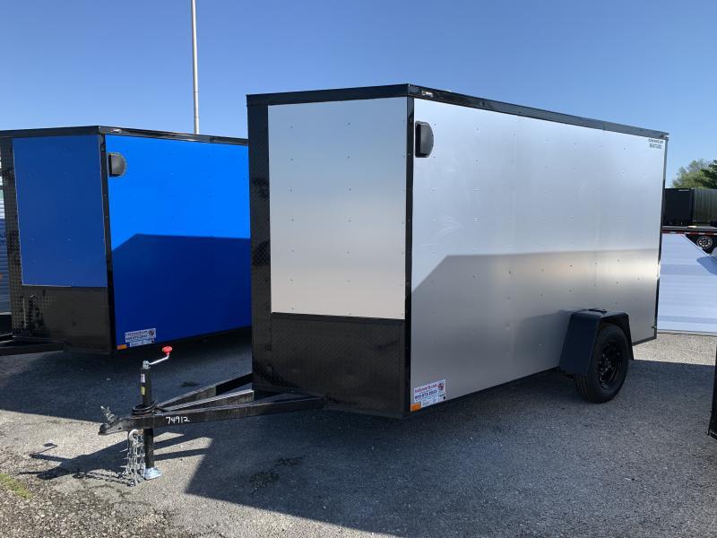 2021 74912 6' X 12' X 6.5' Enclosed Cargo Trailer