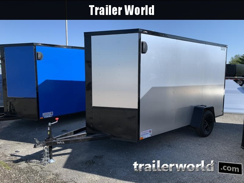 2021 74912 6' X 12' X 6.5' Enclosed Cargo Trailer