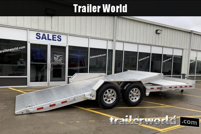 2021 Aluma 8222- 22'  18' + 4' Tilt bed  Equipment Trailer 14k