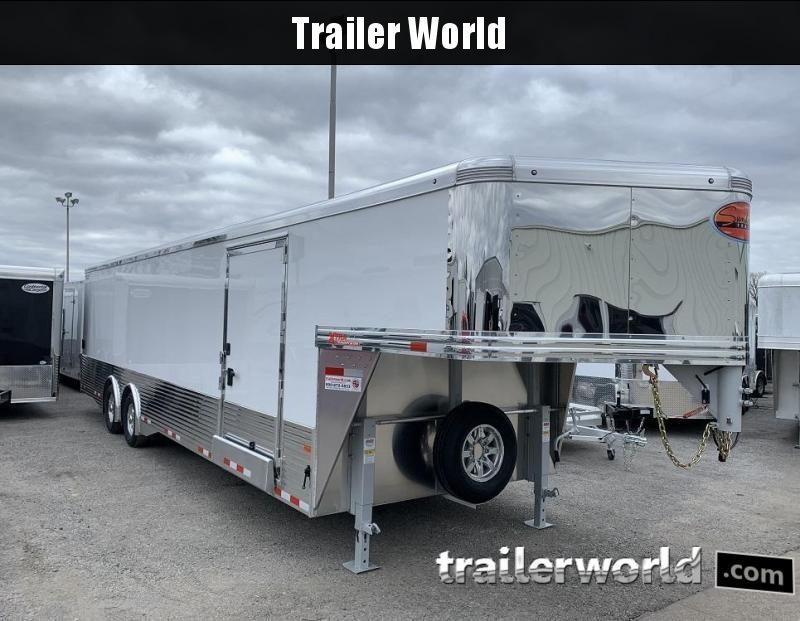 2020 Sundowner 38' Aluminum Gooseneck Enclosed Car Trailer