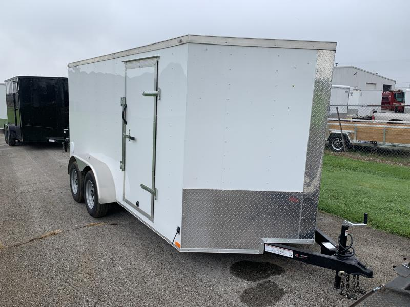 2021 Lark 7' x 14' Enclosed V Nose Cargo Trailer Double Door