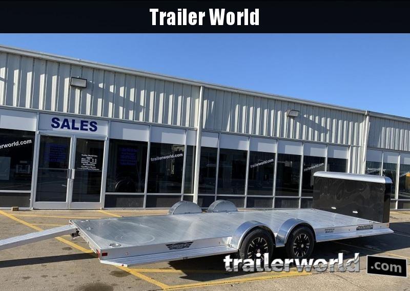 2021 Aluma Executive Series 8222H XL 22 Aluminum Open Car Trailer