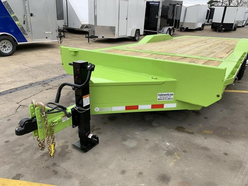 2020 Midsota TBWB-24' Wide Body Split Deck Tilt Equipment Trailer