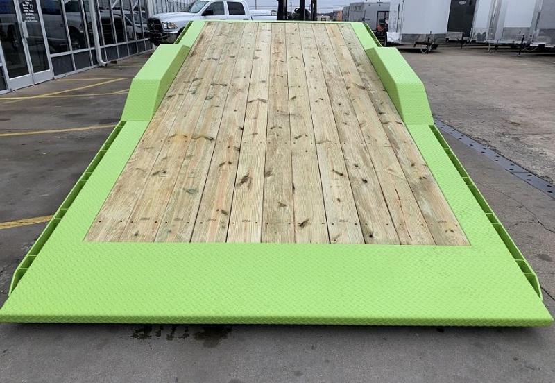 2020 Midsota TBWB-24' Wide Body Split Deck Tilt Equipment Trailer