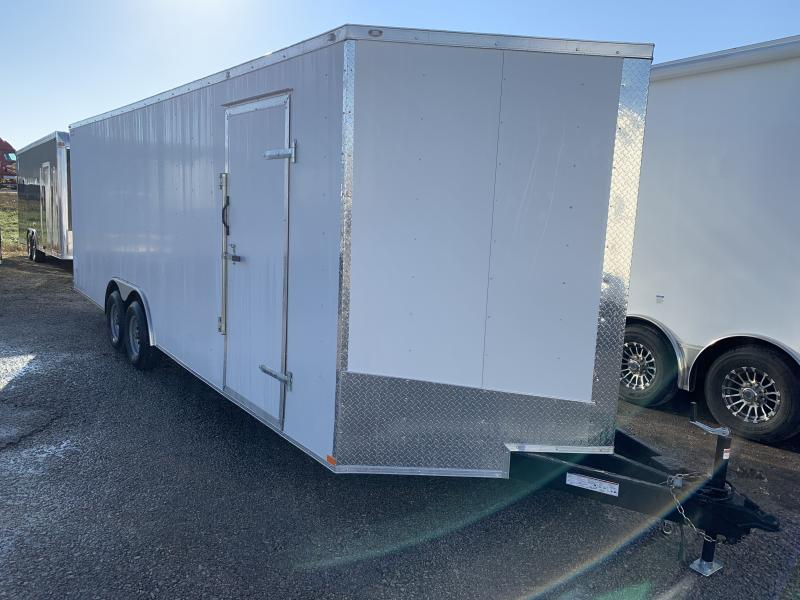 2020 Lark 8 5 x 24 x 7 Enclosed Car Trailer Ramp Door