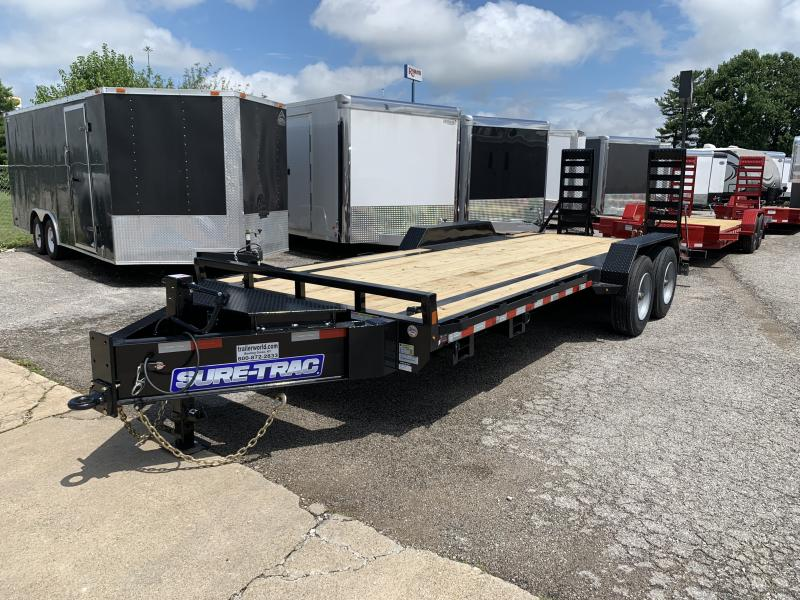 2021 Sure-Trac 7 x 22 Equipment Trailer  20K